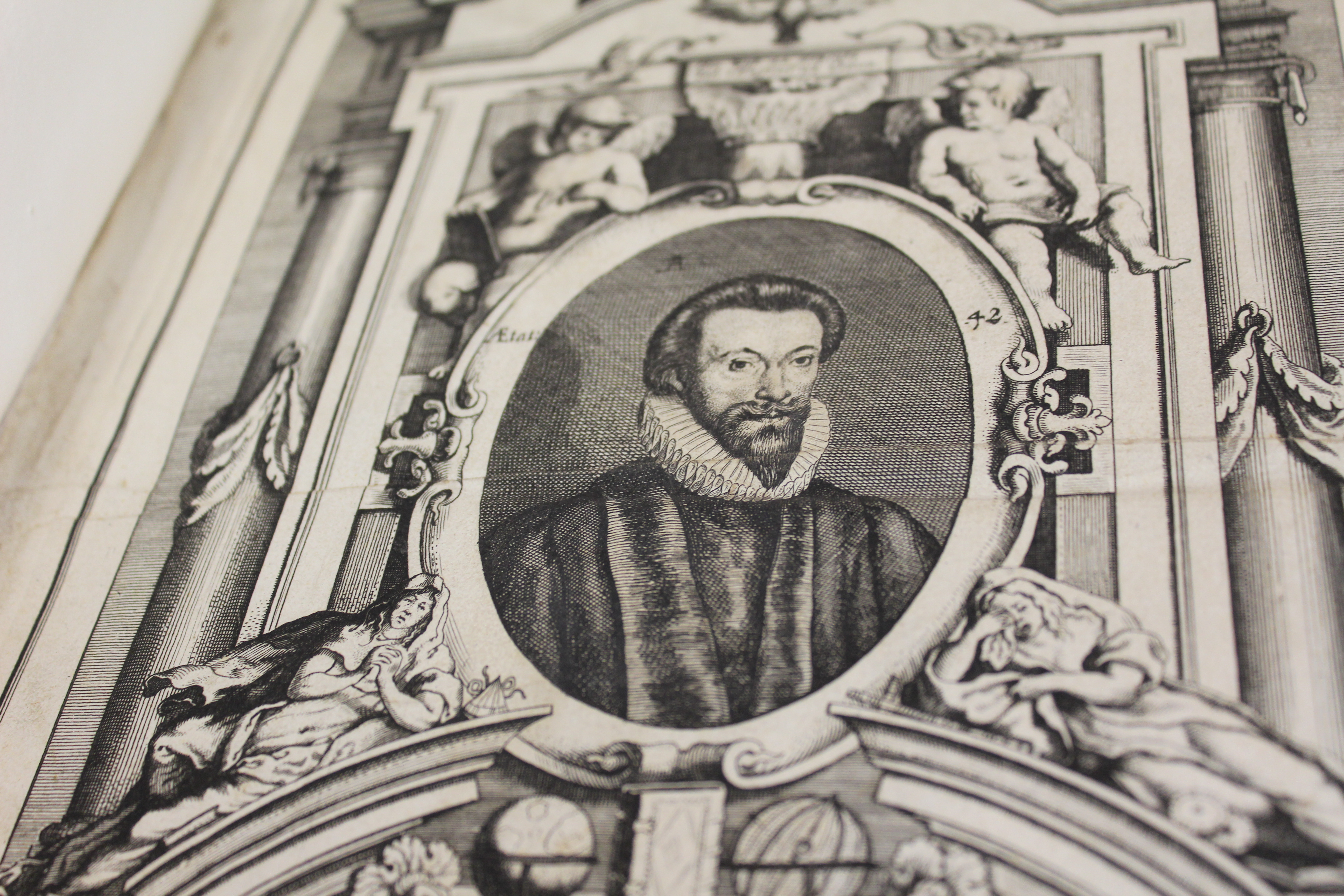 Engraving of John Donne