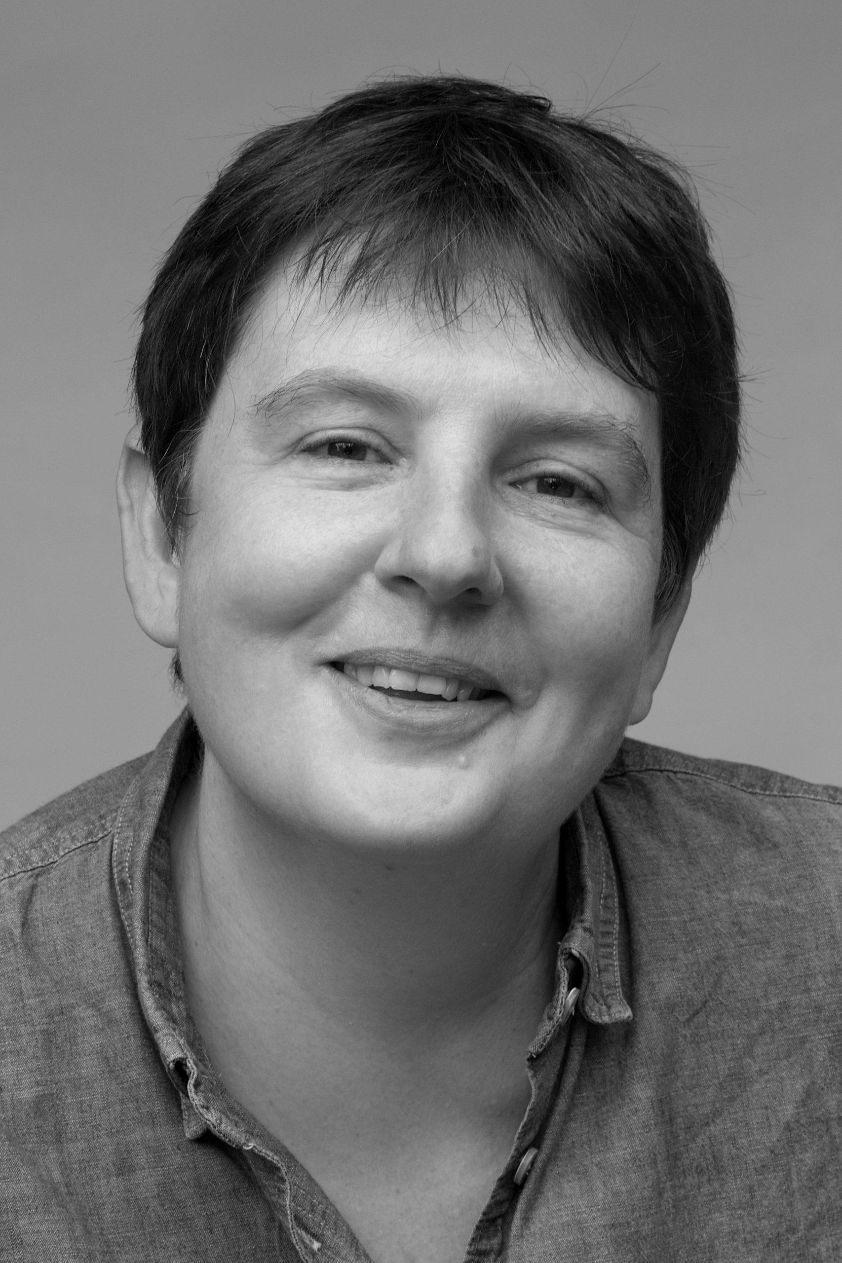 Black and white portrait of Emma Smith